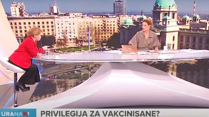LUDILO U STUDIJU: Mila Alečković zapušila usta Vesiću i Joksimovićevoj 1