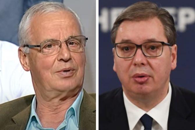 NI TATA ANĐELKO NE MOŽE DA GA SMISLI: Vučić je alav...ne ume da stane dok ne bude nadut od sopstvene krvi! 1