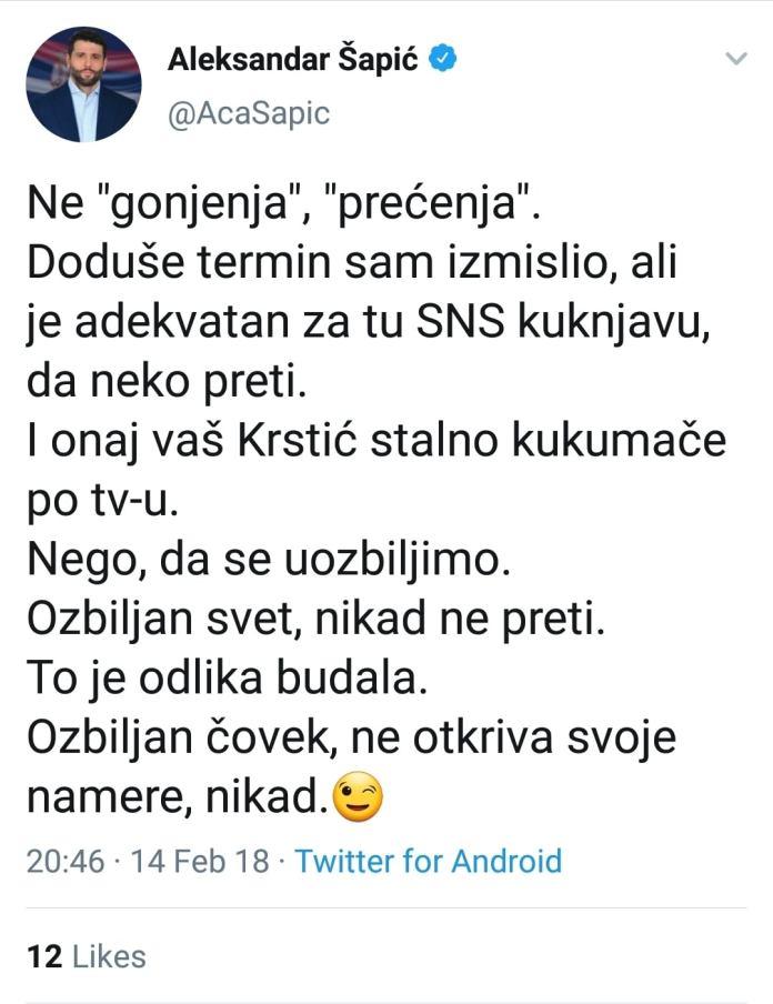 SANDULOVIĆ PRVI OTKRIO: Šapić i Vučić imali SEKS, OBAVEŠTAJNA ZAJEDNICA ZGROŽENA, POČINJE SVRGAVANJE VUČIĆA! 8