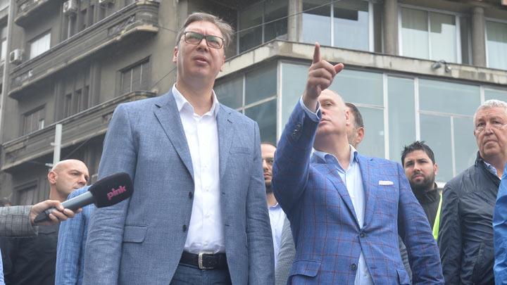 SNS KARTEL: Vučić i Vesić danima kidišu na NIS zbog hale PINKI! 3