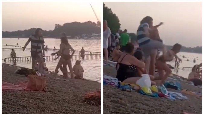 UZNEMIRUJUĆE: Šutirao devojku nogom u glavu, ljudi gledaju i ne reaguju! (VIDEO) 1