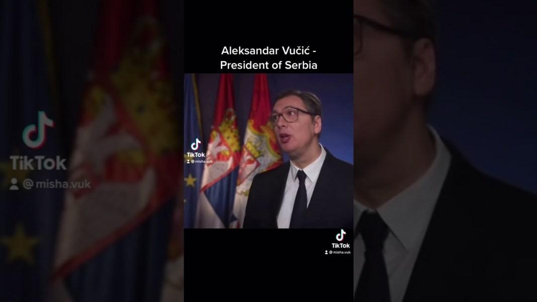SRBI, GASITE TIKTOK: Vučić otvorio nalog, smaraće vas i tamo, najebali ste! 1