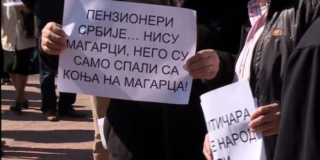 SINDIKAT PENZIONERA OTKAZAO POSLUŠNOST: Vučiću, vrati milijardu evra koje si oteo, a ne da kupuješ glasove pred izbore! 1