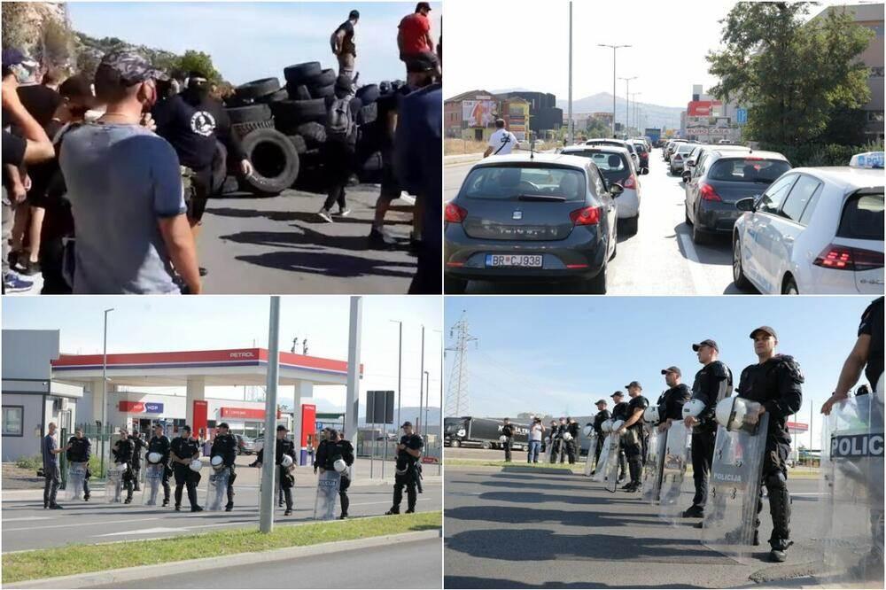 Privedeno 14 osoba, dve uhapšene, povređeno sedam policajaca (VIDEO) 1