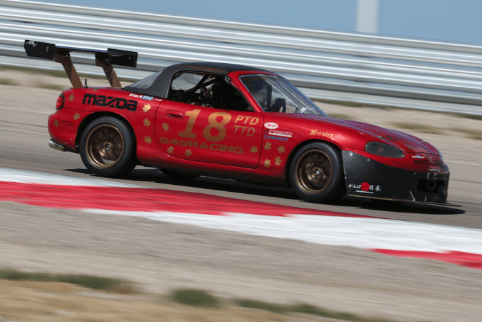 In what would turn out to be a consolation prize for the heartbreaking mechanical failure of his Mazda Miata in the PTD race, Sonny Watanasirisuk won TTD with a lap time of 2:13.382, which was faster than all but one of the TTC times and three seconds quicker than the old TTD record. SoCal Region's John Magnuson drove his Mazda RX-8 to second place with a 2:16.598. Also from SoCal, Fulton Haight wheeled his BMW M3 to third with a 2:16.703.