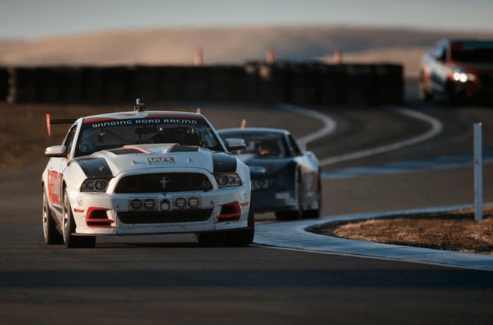 Luxury Don't Crash Racing Mustang