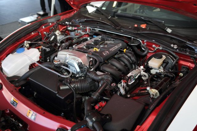 Engines on the new MX-5 Cup cars will be sealed and remain stock, aside from headers and exhaust, intake and a spec ECU.