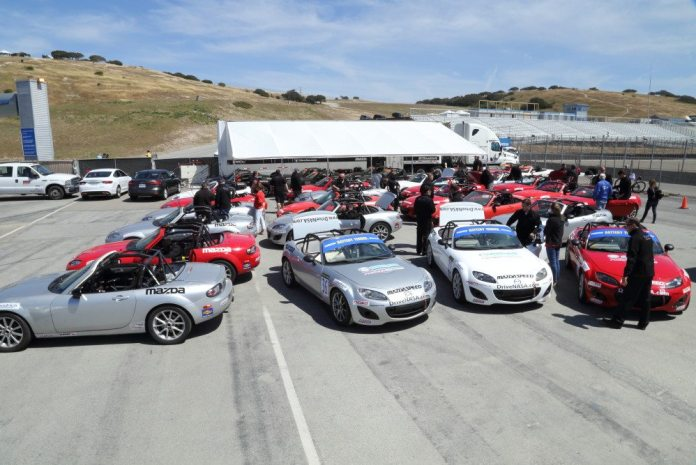 After introductions and instructions, each driver set out to find a car that fit him best.