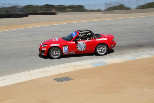 Powers was one of 20 NASA drivers to compete in the inaugural Mazda Race of NASA Champions.