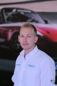 Mazda Motorsports Business Development Manager David Cook