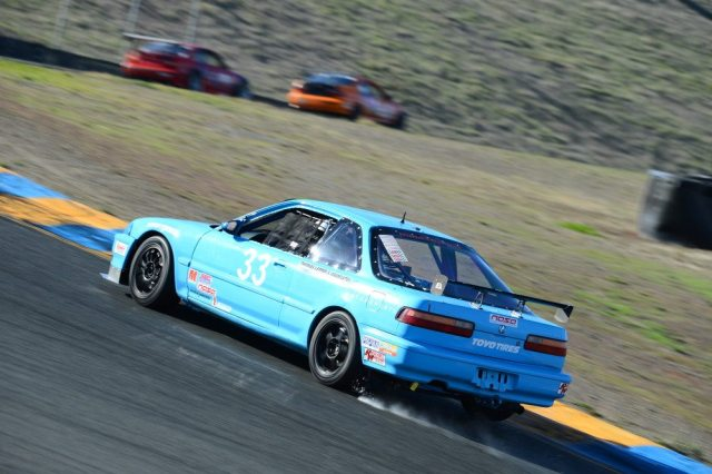 Thomas Lepper capitalized on traffic to finish second in Honda Challenge 1.