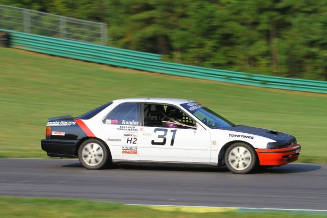 Karl Kondor finished third in Honda Challenge 2 in an Accord that once belonged to his mother.
