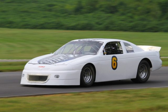 Dave Balingit drove his Ford-powered Monte Carlo to a third-place finish in Super Touring 2.