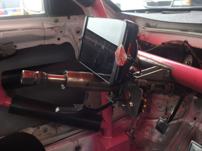 Tablet dashboard nasa speed news magazine everybody always wants to lose weight in racing this photo shows how simple and lightweight this installation is compared with an entire dashboard and keyboard keysfo