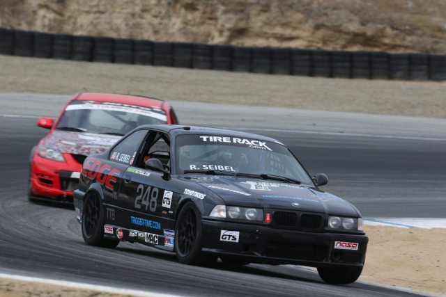 Robert Seibel took second place in PTB in his E36 BMW M3.