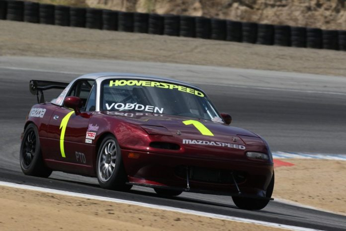 David Vodden took advantage of race leader Eric Powell retiring early to take second place in PTD.