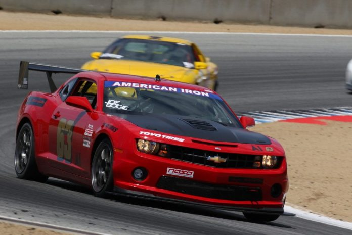 Driving the only Chevrolet in the Championships field, Joe Bogetich took second place in American Iron.