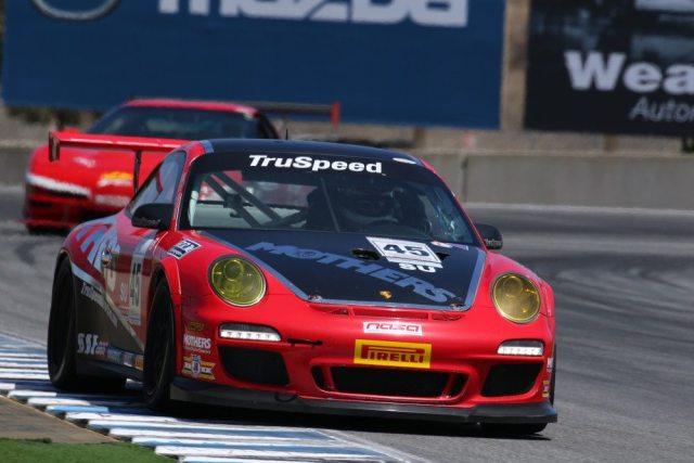 Daytona 24 hour veteran Tom Haacker took third in Super Unlimited in his Porsche 911 GT3 Cup car.