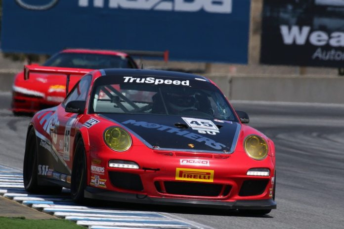 Daytona 24 hour veteran Tom Haacker took third in Super Unlimited in his Porsche 911 GT3 Cup car.