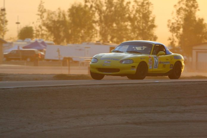 Team Love My Dad Motorsports took first in E3, logging lap times some four seconds faster than its nearest competitors.