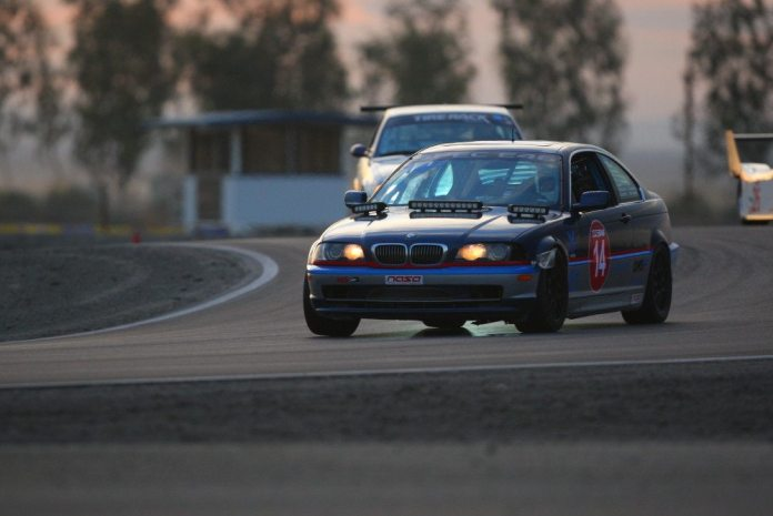 Team Technik/HQ Autosport driver Peter Hopelain flew in from Rhode Island to drive in the last race of the WERC season, and took home first place in E1.