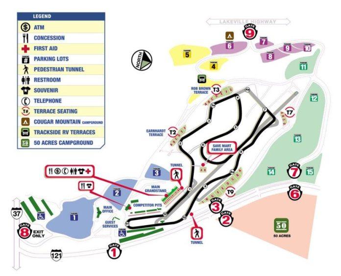 One Lap Around Sonoma Raceway Nasa Speed News Magazine