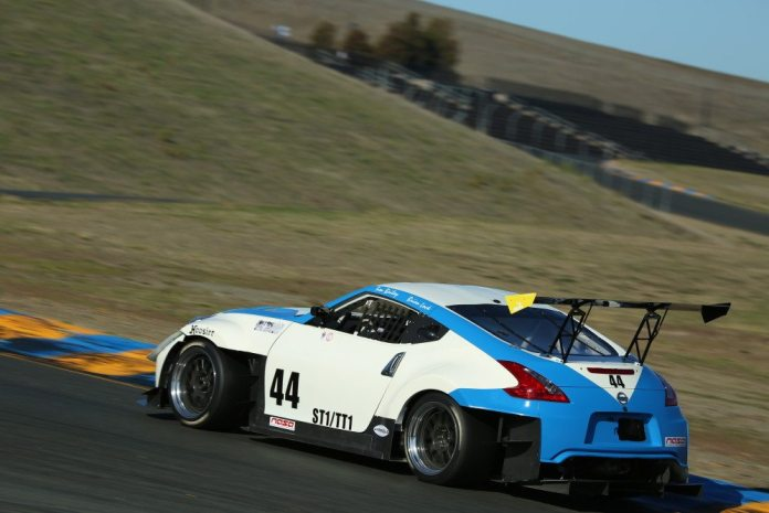 Brian Lock took top honors in TT1 in his wild Nissan 370Z with a 1:43.670 lap time.