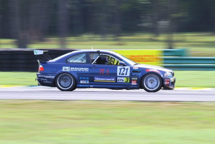 Eric Wong is a Mid-Atlantic racer, so VIR is familiar to him, which helped him drive his way to a TT3 Championship.