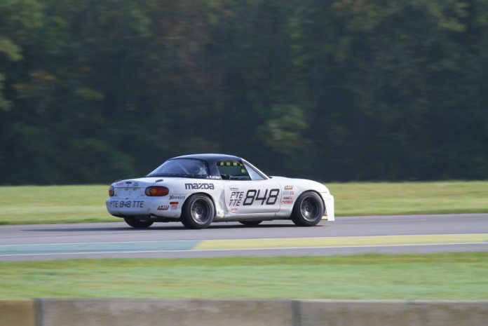 Jason Kohler added to his PTE win with another win in TTE with a lap time of 2:14.835