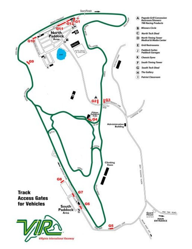 racetrack Map