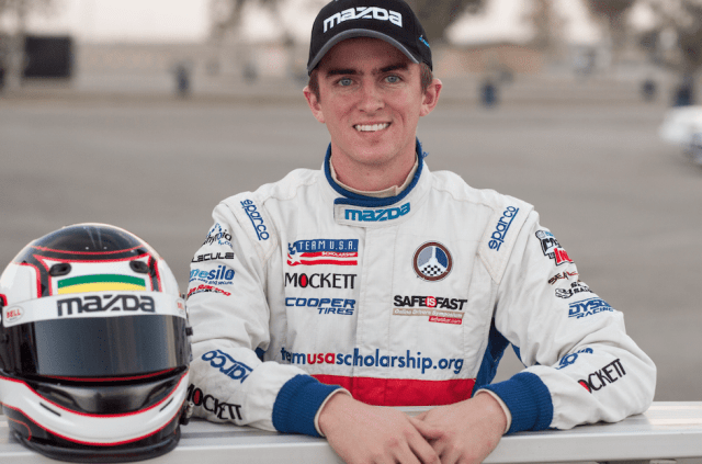 2013 Mazda Club Racer Shootout winner Joey Bickers hails from Moorpark, Calif.