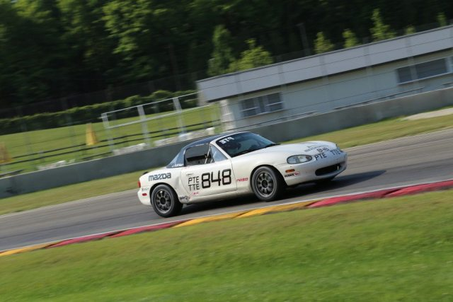 2012 Honda Challenge National Champion Jason Kohler was double-dipping in PTE and TTE in his Mazda Miata.