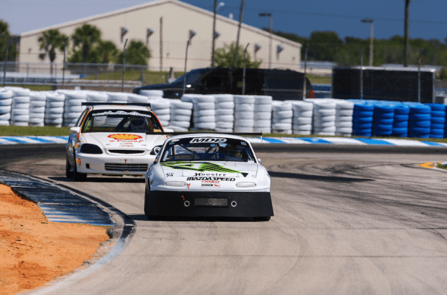 Powell picked up three first-place finishes in PTD and two firsts in TTC at Sebring International Raceway in March.