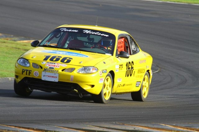 Ronald Nielsen drove his Ford Escort ZX-2 to victory in PTF after two other competitors were DQ'd for weight infractions.
