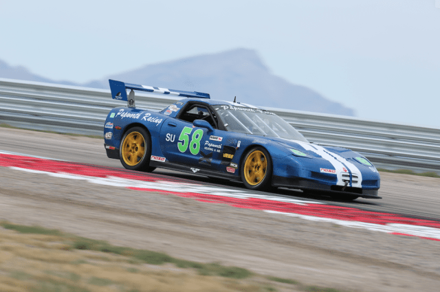 Michael Papworth drove his C5 Corvette to take third in SU.