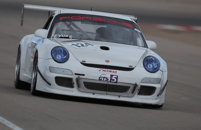 David Leyvas started and finished in third in GTS5.