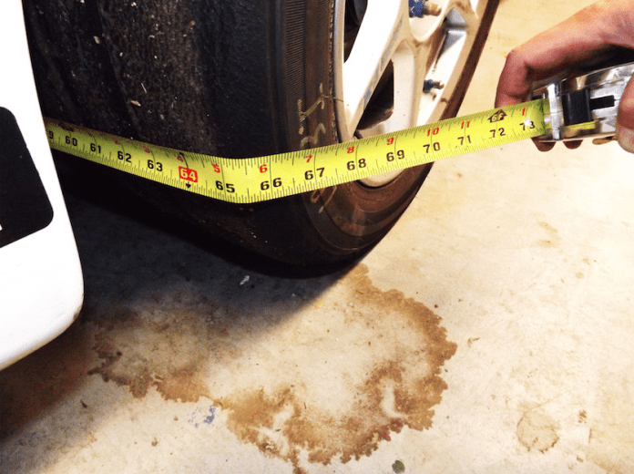 We have all done it. You need a quick and dirty measurement on your toe alignment and you drag a measuring tape across the front tires. Is this precise? Not usually. We decided a set of toe plates could help us perform a more accurate adjustment.
