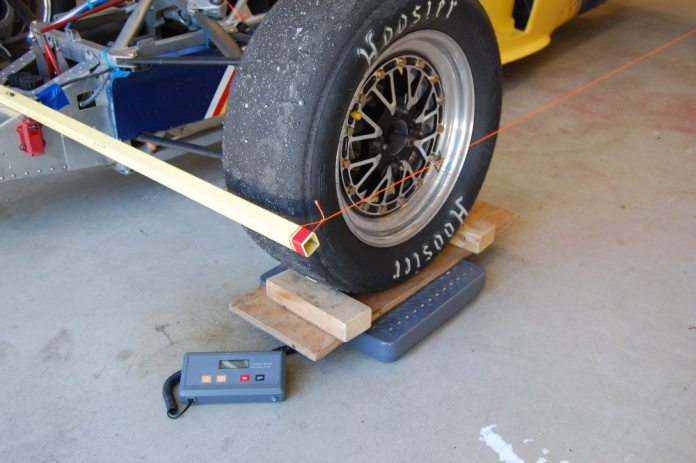 A simple toe string system to measure toe settings will let you make adjustments or repairs at the track with confidence.