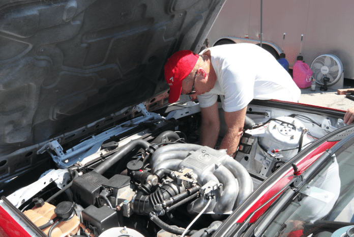 Ryan built all three of the family's cars and performs all the upkeep and repairs.
