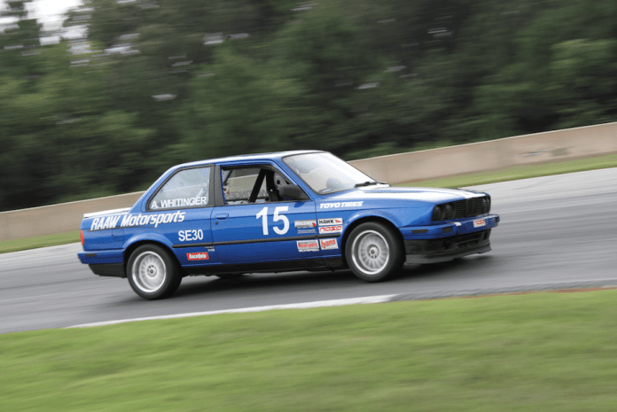 By the time you read this, Aaron Whitinger should have his provisional license to race with his dad in Spec E30.