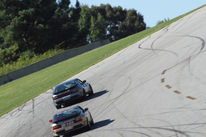 The uphill compression on the car in Turn 1 can really add mechanical grip and help maximize your entry speed.