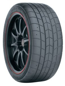 Toyo's Proxes RA1 is the spec tire for a number of NASA classes.