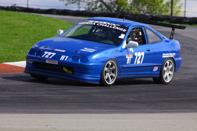 Jonathan Meris started from the back of the grid in a car that was built on the way to, and in the garages, at the Mid-Ohio track.