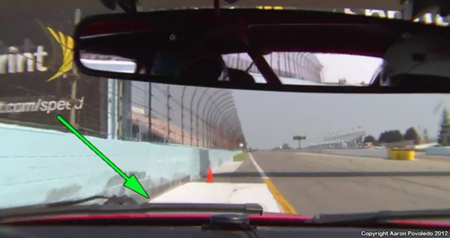 At the exit of Turn 11, if you are not using the entire exit curb, add more speed!
