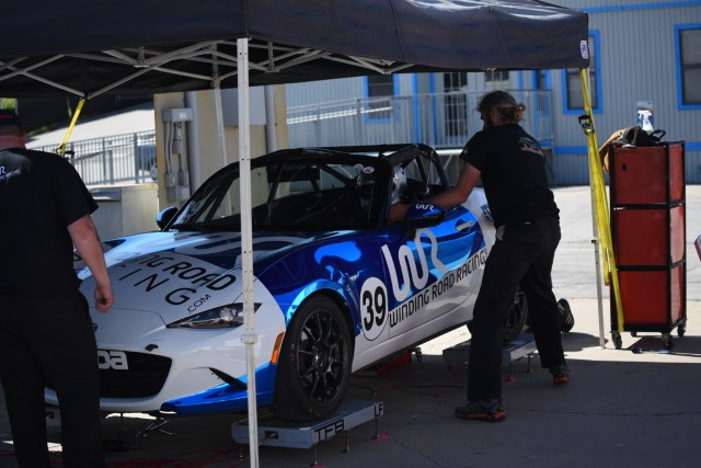 NASA Spec Iron Champion Corey Rueth races in Global MX-5 Cup with Winding Road Racing and is head of driver development.
