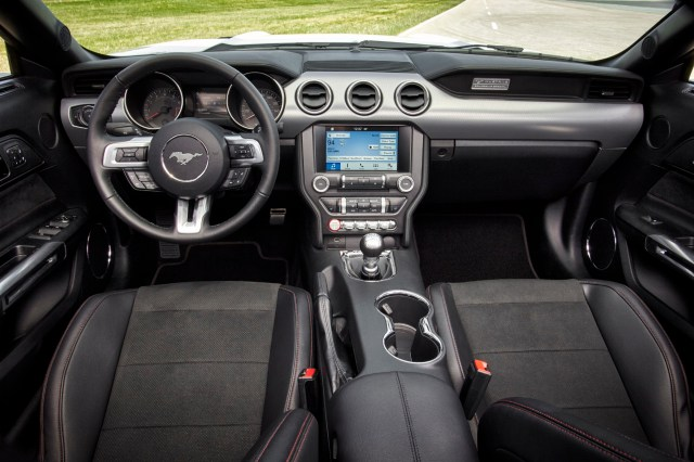 2016 Ford Mustang GT Convertible Equipped with the California Special Package