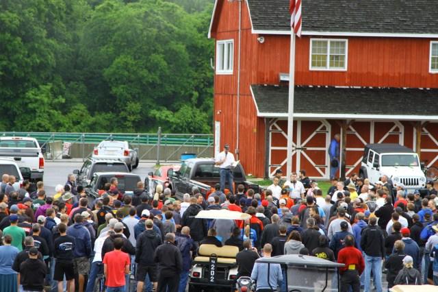 NASA Mid-Atlantic Regional Director rallies the troops for a full weekend of NASA racing.