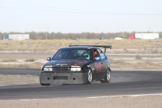 Greg Greenbaum took his 318ti to a second-place finish in PTC.