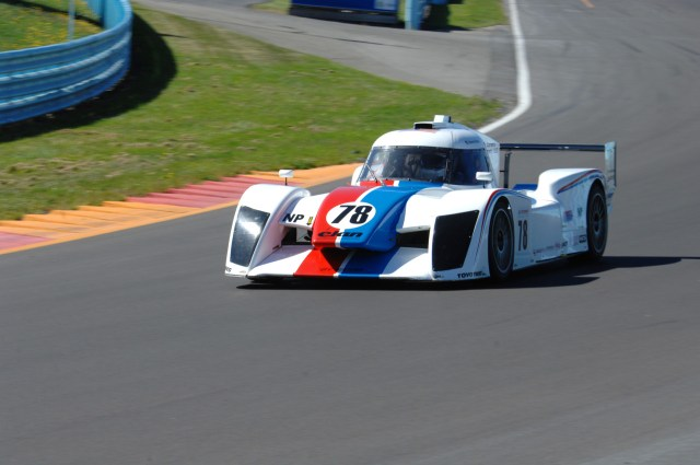 Warren Sackman finished second from his fifth-place start in NP01.