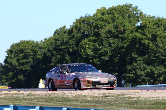 John Mock took home third place in GTS1 in his Porsche 944.
